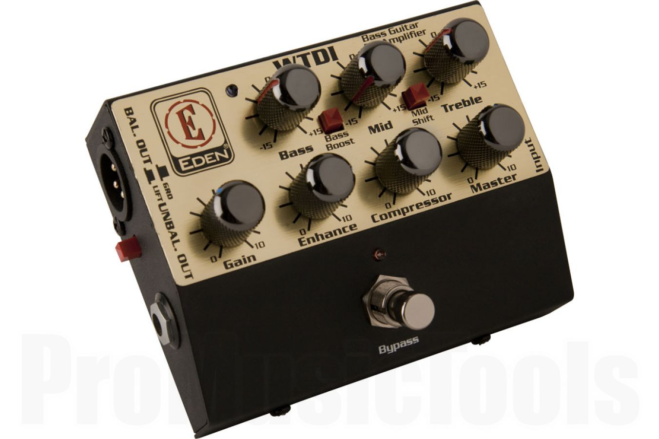 Eden WTDI bass D.I. box & preamp - B-stock (1x opened box)
