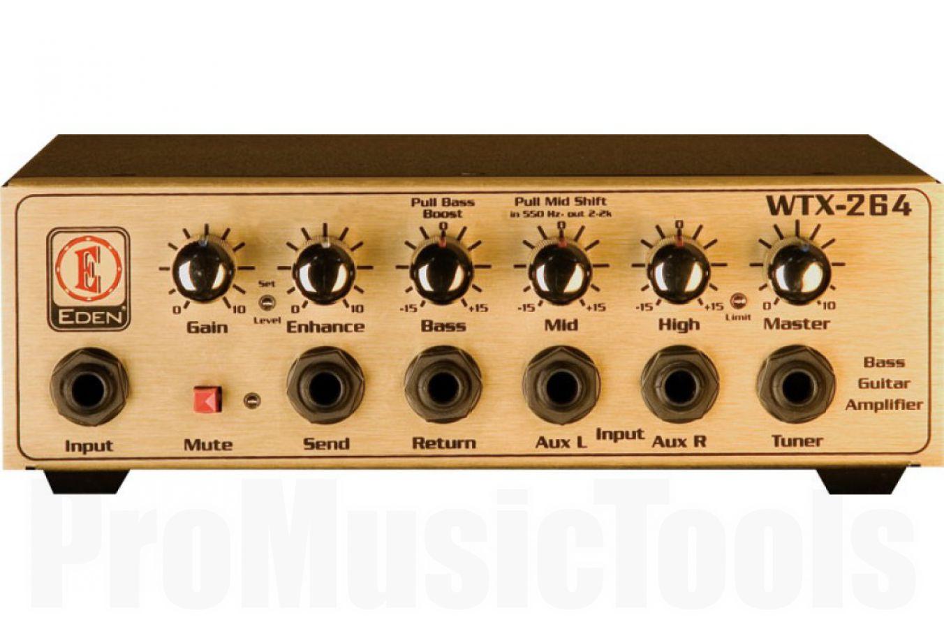 Eden WTX264 Bass Amplifier Head - b-stock