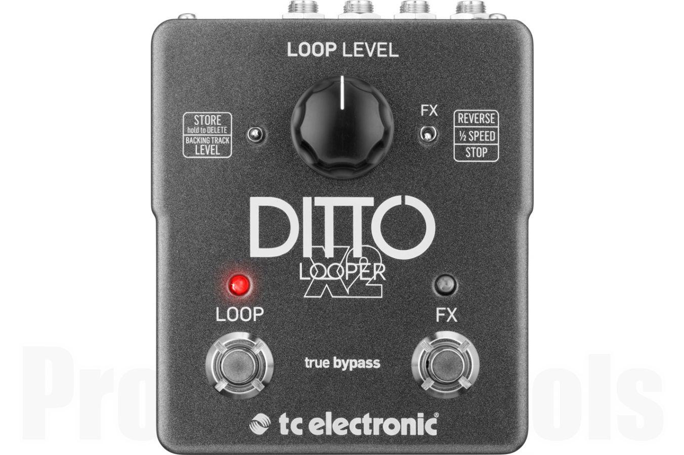 TC Electronic Ditto X2 Looper - demo