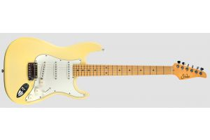 Suhr Classic S SSS VY - Vintage Yellow MN