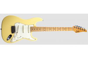 Suhr Classic S Antique SSS VY - Vintage Yellow MN