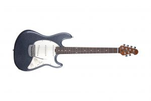Music Man USA Cutlass Guitar SSS CP - Charcoal Sparkle
