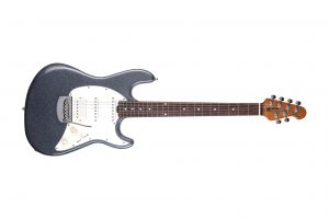 Music Man USA Cutlass Guitar HSS CP - Charcoal Sparkle