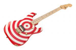 Charvel USA Custom Shop Strat - San Dimas Retro Bullseye
