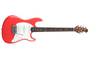 Music Man USA Cutlass RS HSS Guitar CR - Coral Red RW