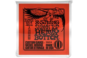 Ernie Ball 2624 8-String Skinny Slinky .009 - .080