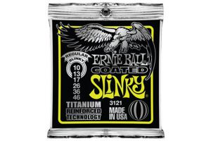 Ernie Ball 3121 Regular Slinky Coated Titanium .010 - .046