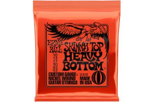 Ernie Ball 2215 Skinny Top Heavy Bottom Slinky .010 - .052