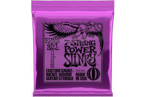 Ernie Ball 2620 7-String Power Slinky .011 - .058