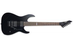 ESP E-II M-II Neck Thru BK - Black