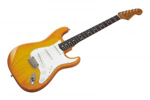 Fender Custom Shop '60 Stratocaster RW - Sienna Sunburst NOS Roasted Neck AAA Flame