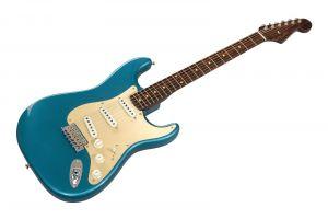 Fender Custom Shop S20 LTD 57 Strat Rosewood Neck - LCC Aged Ocean Turquoise