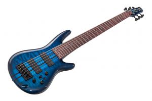 Ibanez ANB1006 - Transparent Blue - Adam Nitti Signature