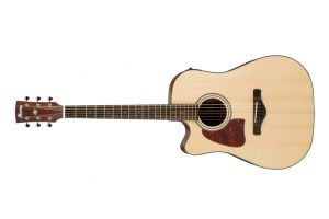 Ibanez AW400LCE Artwood NTG - Natural Gloss - Lefthand