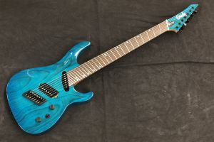 Ormsby SX Carved Top GTR7 (Run 10) Multiscale - Maya Blue Candy Gloss