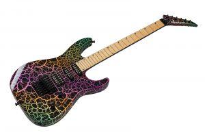 Jackson Pro Series Soloist SL3M MN - Rainbow Crackle