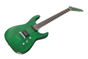 Jackson USA Custom Shop Soloist SL1T - Trans Green Satin