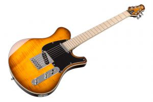 Mayones Legend T22 - Trans Amber Burst Gloss