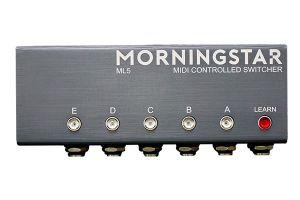 Morningstar ML5 True-Bypass Loop Switcher