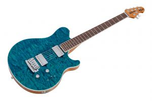 Music Man USA Axis Super Sport BFR Trans Light Blue - Limited Edition
