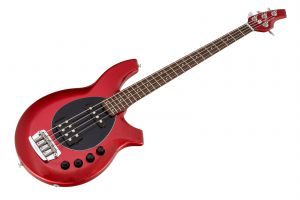Music Man USA Bongo 4 HS RS - PDN Cardinal Red Sparkle Limited Edition