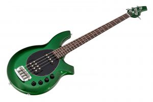 Music Man USA Bongo 4 HS ES - PDN Emerald Green Sparkle Limited Edition