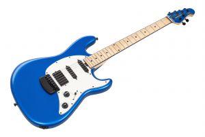 Music Man USA Cutlass HSS Guitar BFR Blue Magic - Limited Edition