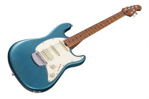 Music Man USA Cutlass RS HSS Guitar VT - Vintage Turquoise MN