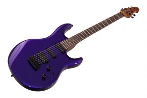 Music Man USA Luke III HSS FMP - Firemist Purple - Roasted maple neck