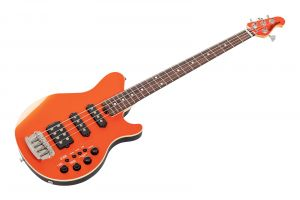 Music Man USA Reflex 4 HSS Bass TP - Tangerine Pearl RW