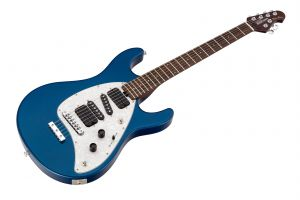 Music Man USA Steve Morse STD BP - Blue Pearl - Rosewood Neck Limited Edition PV
