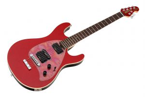 Music Man USA Steve Morse Y2D STD RS - PDN Cardinal Red Sparkle Limited Edition MH