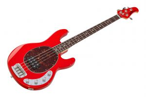 Music Man USA Stingray 4 HC - Chili Red RW MH SHPG