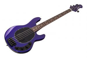 Music Man USA Stingray 4 Neck Through FMP - Firemist Purple