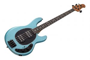 Music Man USA Stingray 4 Special HH SK - Aqua Sparkle