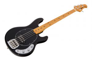 Music Man USA Classic Stingray 4 BK - Black MN Birdseye
