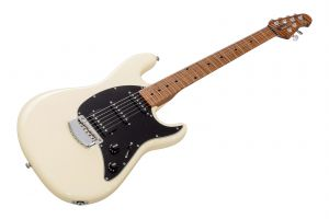 Music Man USA Cutlass RS HSS Guitar AU - Aged Buttercream