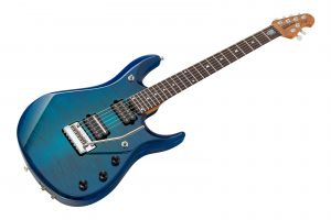 Music Man USA John Petrucci JP6 BFR FT NB - PDN Neptune Blue Roasted Neck Limited Edition RW