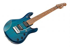 Music Man USA John Petrucci JP7 Piezo NB - PDN Neptune Blue Roasted Neck Limited Edition MN JP Inlays