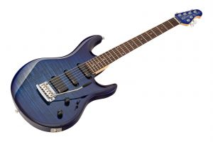 Music Man USA Luke BFR FT BLB - Blueberry Burst Flame