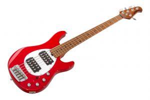 Music Man USA Sterling 5 HH SR - Scarlet Red