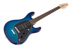 Music Man USA Steve Morse STD MBB - Morse Blue Burst