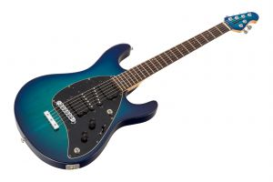 Music Man USA Steve Morse STD MBB - Morse Blue Burst MH