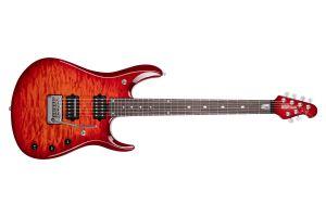 Music Man USA John Petrucci JP6 BFR QT DR - Dragon Blood Quilt