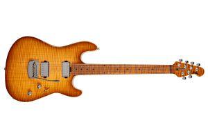Music Man USA Sabre Guitar HS - Honey Suckle MN