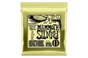 Ernie Ball 2214 Mammoth Slinky .012 - .062