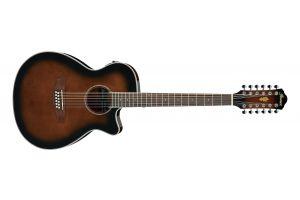 Ibanez AEG1812II DVS - Dark Violin Sunburst High Gloss