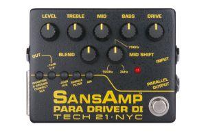 Tech 21 USA SansAmp Para Driver D.I. V2