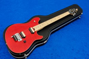 Peavey Wolfgang EVH USA Special FM Flame Top FR - Transparent Red