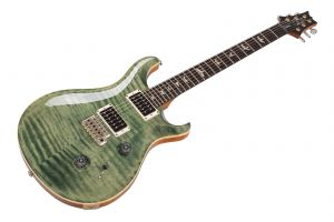 PRS USA Custom 24 TG - Trampas Green - Pattern Thin neck
